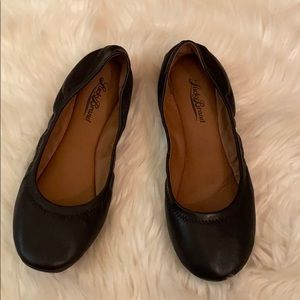 Lucky Brand VEUC worn once black flats